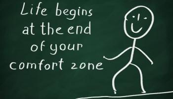 Vystupte ze své komfortní zóny